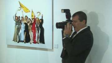 Холивудската звезда Антонио Бандерас в ново амплоа