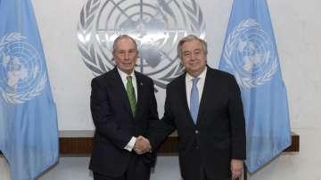 Бившият кмет на Ню Йорк Майкъл Блумбърг стана посланик на ООН