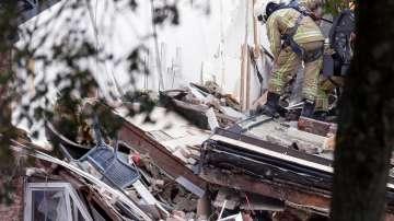 Газова експлозия срина три къщи в Антверпен