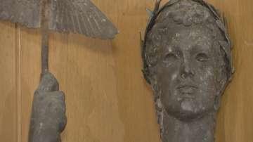 Задържаха крадеца на статуята на Аполон до халите в София