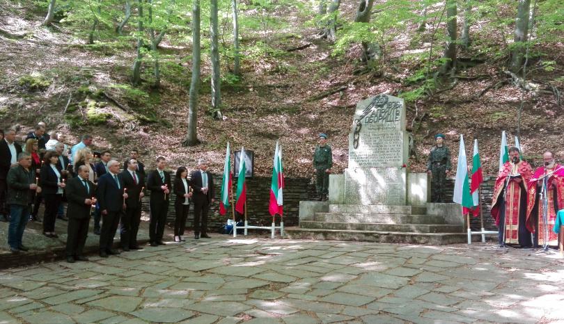 снимка 1 Димитър Главчев участва в националния събор-поклонение в местността Оборище