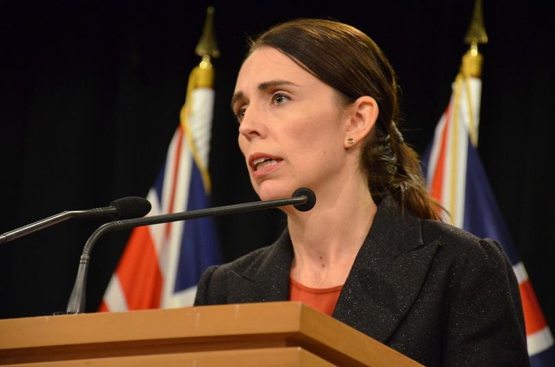 Министър-председателят на Нова Зеландия Джасинда Ардърн съобщи, че е получила