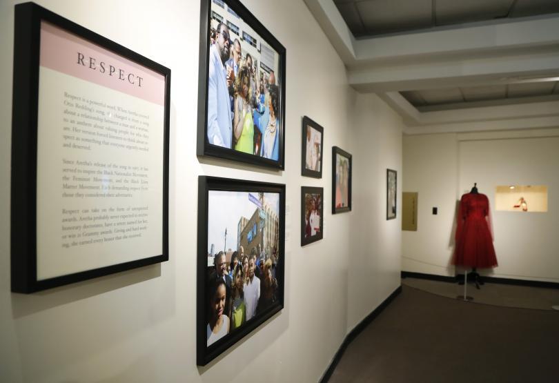 снимка 1 Изложба, посветена на Арета Франклин, се открива в Детройт