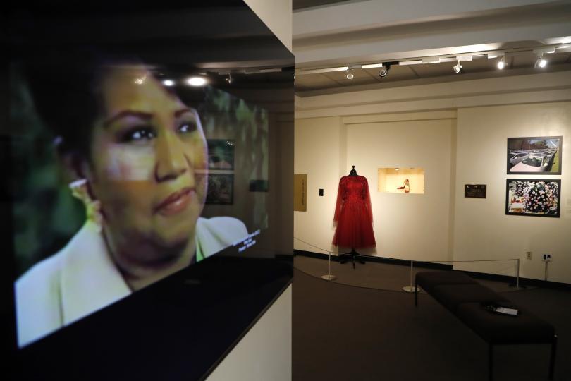 Изложба, посветена на Арета Франклин, се открива в Детройт