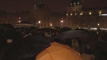 Будни нощи в Париж