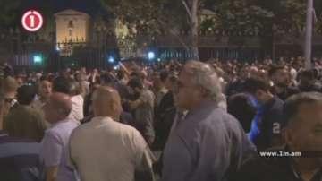 Протести в Ереван в подкрепа на предсрочни избори