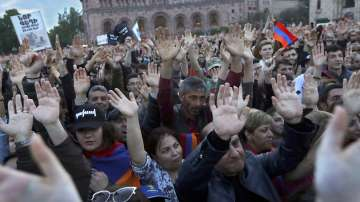 Протестите в Армения продължават