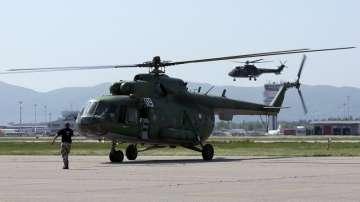 Военнотранспортен вертолет Ми-8 на Българските ВВС