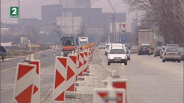 Дейностите по разширяване на пътя Пловдив-Асеновград ще бъдат подновени още