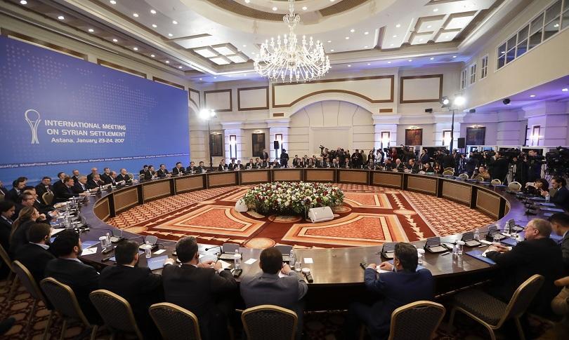 По-ранна среща в столицата на Казахстан Астана