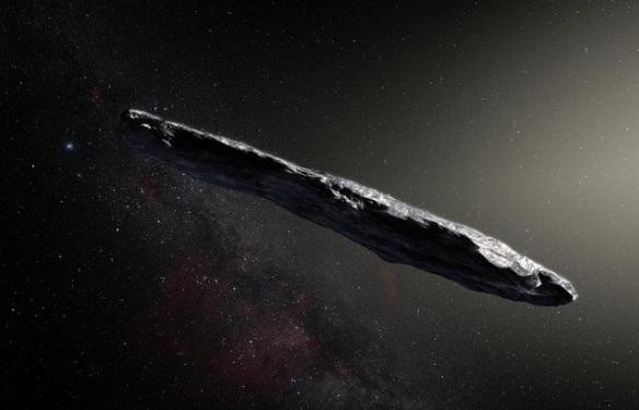 Астероидът с необичайна продълговата форма, който учените засякоха миналия месец,