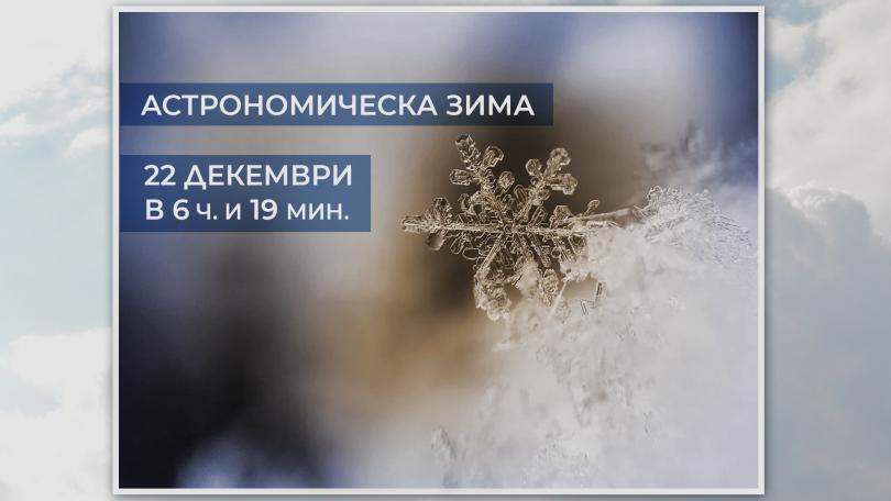 Утре настъпва астрономическата зима
