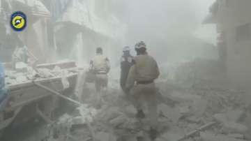 Силите на Башар Асад са обвинени в химическа атака в Алепо