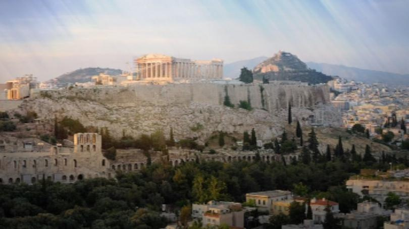 На международното летище в Атина в личния багаж на британски