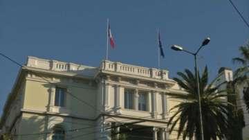 Хвърлиха граната по посолството на Франция в Атина