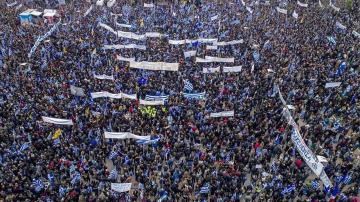 """От нашия пратеник: Атина се готви за митинга срещу употребата на """"Македония"""""""
