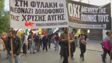 Шествия срещу ислямофобията в Атина