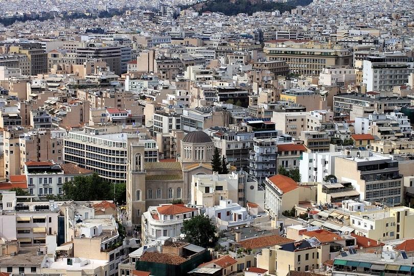 Новоизбраният кмет на Атина Костас Бакоянис полага клетва по встъпването