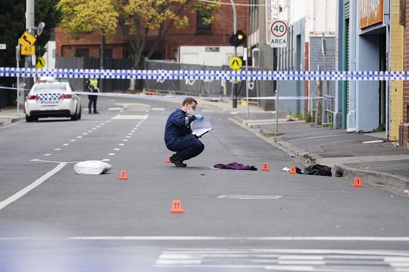 Снимка: Стрелба пред нощен клуб в Австралия