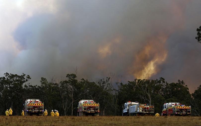 Снимка: Извънредно положение заради пожарите в два австралийски щата