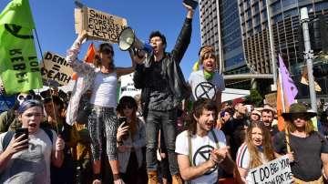 Над 70 души са арестувани след протест на екоактивисти в Австралия