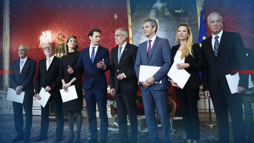 От няколко дни австрийският президент приема и изпраща водещите политици