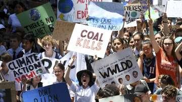 Масов протест на ученици в Австралия срещу климатичните промени