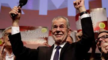 Австрия след победата на Александер ван дер Белен