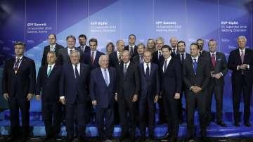 Среща на европейските лидери за миграцията в Залцбург