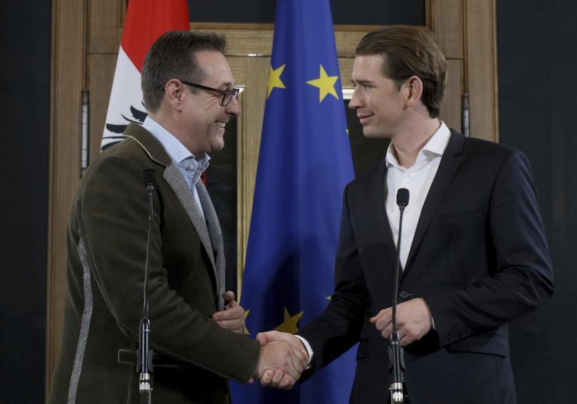 Крайнодесните се връщат в управлението на Австрия. Австрийската народна партия