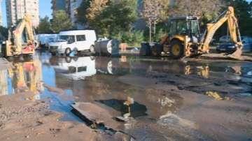Сериозна авария наводни една от основните улици в пловдивския район Тракия