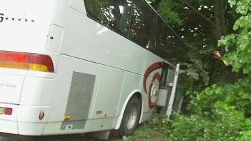 Пътнически автобус катастрофира на пътя Русе - Бяла