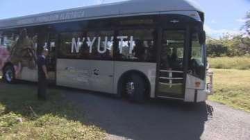 Автобуси се движат с помощта на вятъра и слънцето в Коста Рика