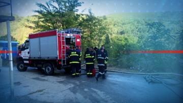 Автобус с деца се запали край Бяла, няма пострадали