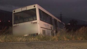 Автобус излезе от пътя край Шипка, няма пострадали