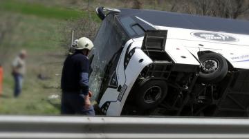"""Шестима загинаха, а над 20 бяха ранени при катастрофа на магистрала """"Тракия"""""""