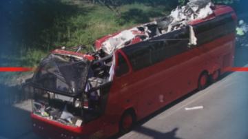 Лека катастрофа с автобус от Северна Македония в Пловдив