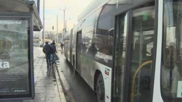 Нападнат шофьор на автобус от Столичния градски транспорт