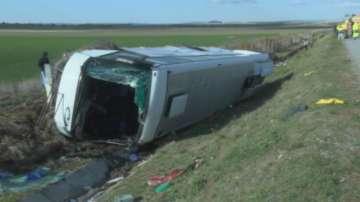 Катастрофиралият автобус минал годишен преглед преди 10 дни