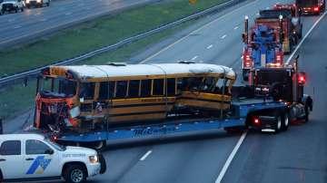 Ученик и учител са загинали, а 43-ма са ранени след тежка катастрофа в Ню Джърси