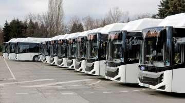 30 нови автобуса на природен газ тръгват по линия 111 в София