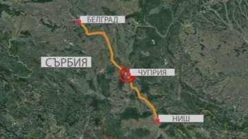 Автобус с български туристи се преобърна в Сърбия