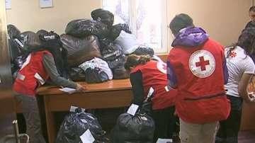 Благотворителната кампания на БЧК за Хитрино