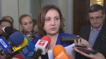 Бъчварова: Ще работи по актуализиране на приоритетите в работата на кабинета