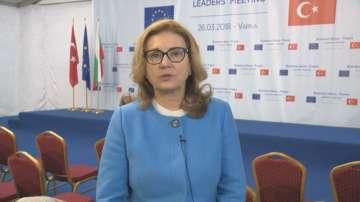 Бъчварова: Срещата вчера разчупи ледове, които задържаха отношенията ЕС-Турция