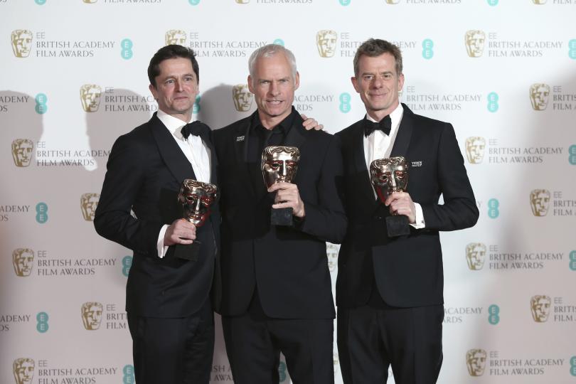 Снощи бяха раздадени наградите на Британската академия за кино и