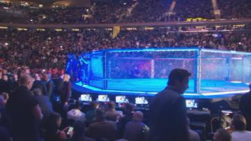 Тръмп гледа мач на Багата в Медисън Скуеър Гардън