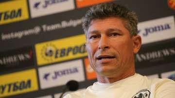Красимир Балъков: Поднасям своите извинения на английските футболисти