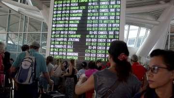 Летището на остров Бали вече работи нормално