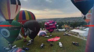 Най-големият фестивал на балони в Европа се проведе в Бристол